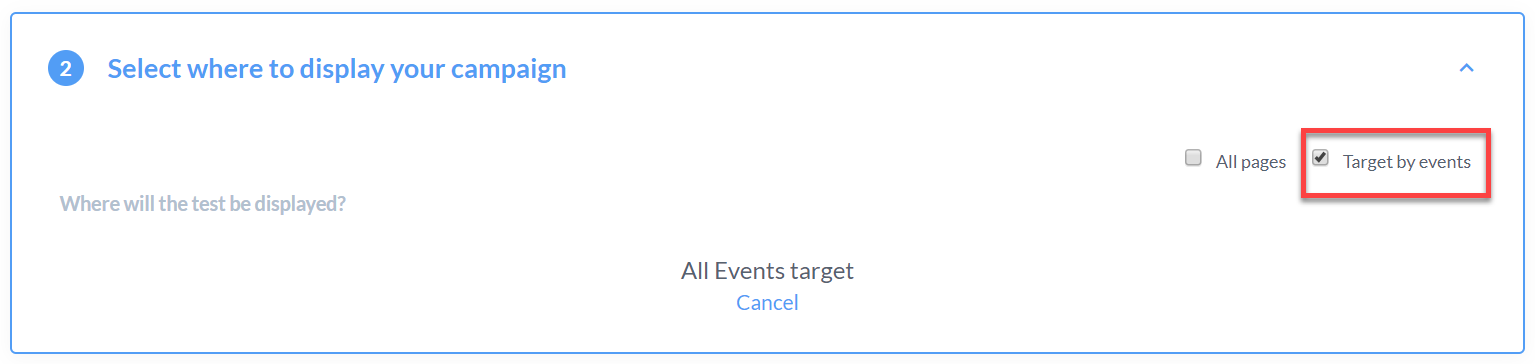 Condition a test on an event – Support